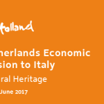 Netherlands economic mission to Italy: focus on Cultural Heritage