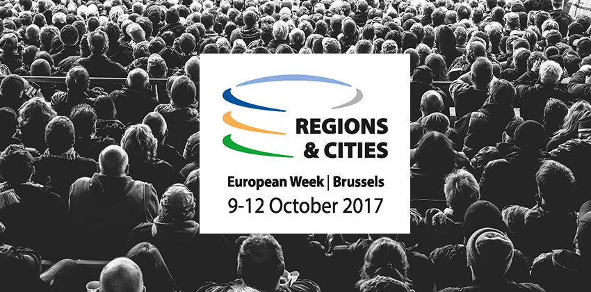 Perceive project ci porta alla European Week of Regions and Cities