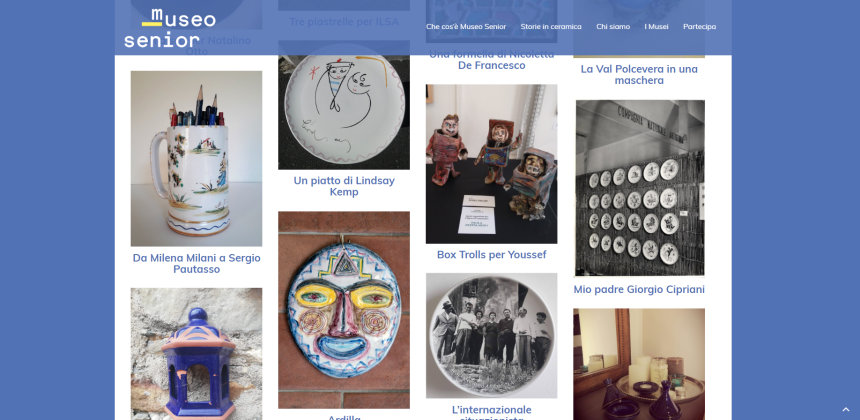Storie in ceramica è online