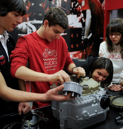 Planning and developing a training course for the Fondazione Ducati